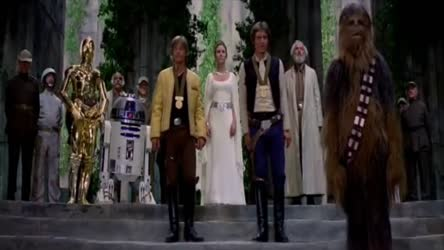 Happy Birthday Song - Chewbacca