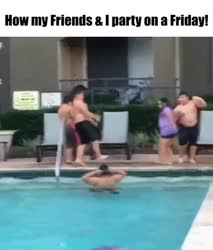 Friday Party meme