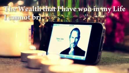 Inspirational Last Spoken Words Of Steve Jobs