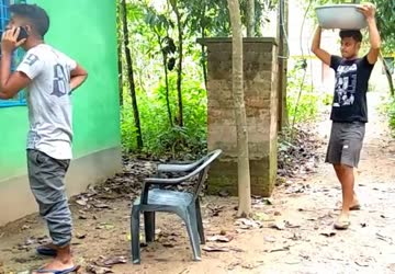 Boys Cheating  Water Funny Viral