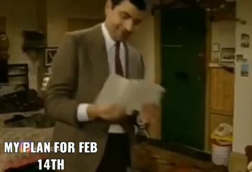 My plans for Feb 14th
