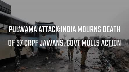 India Mourns Death of 37 CRPF Jawans