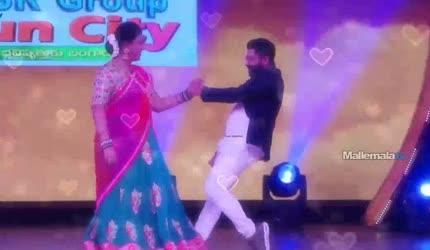Nee kallanu pattuku song...Shekar Master And Roja Performance