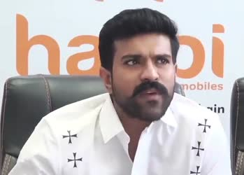 Ram charan about RRR movie shoot