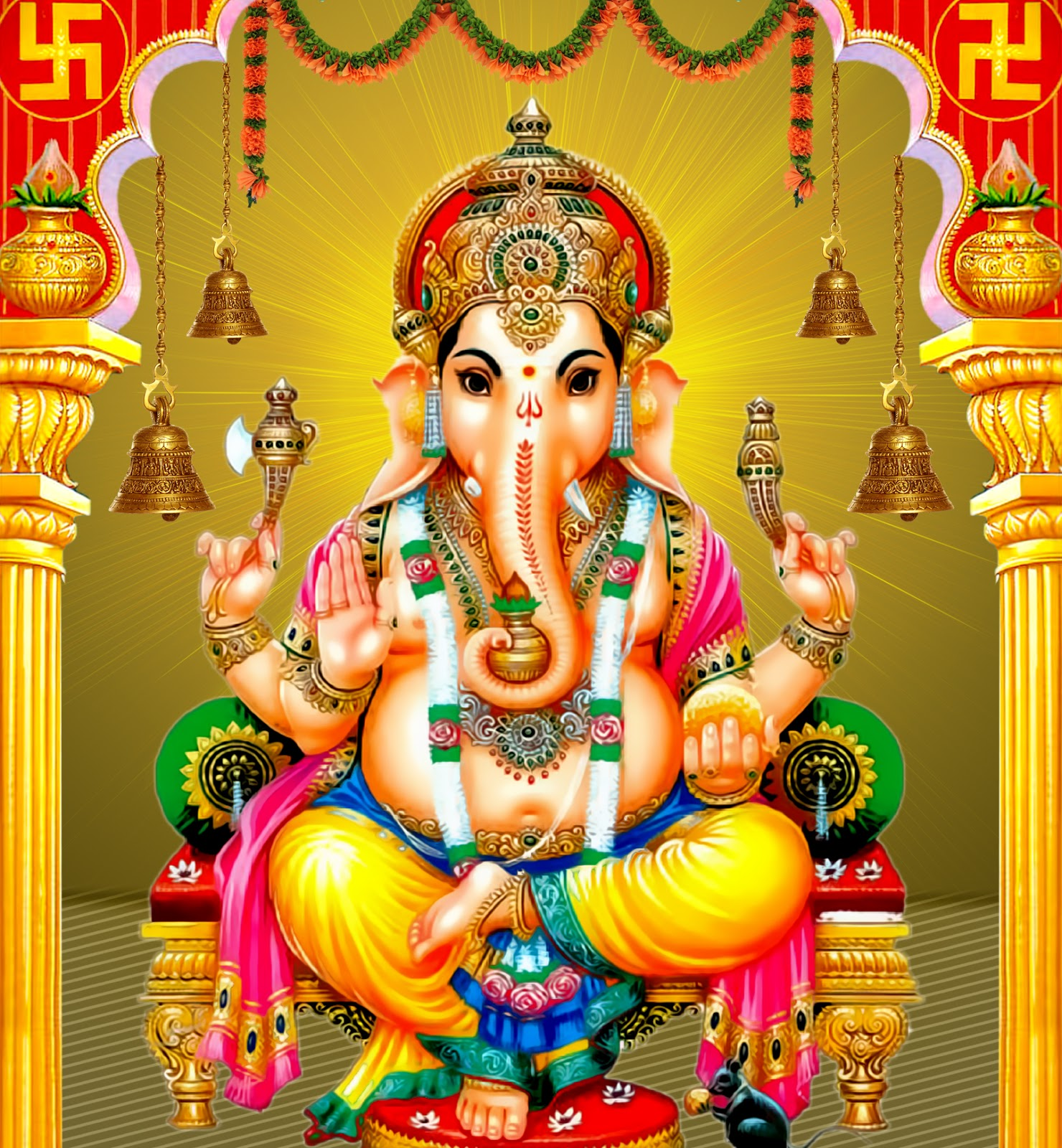 Kulfyappcom Presents Lord Ganesh Video Gif