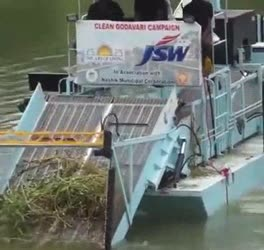 cleaning of rivers