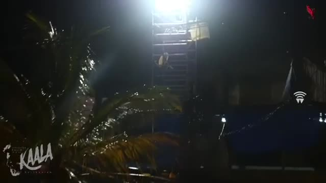 kaala movie shooting and dance