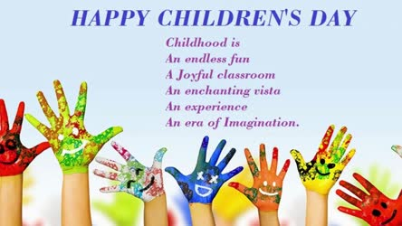 Children's Day Special video