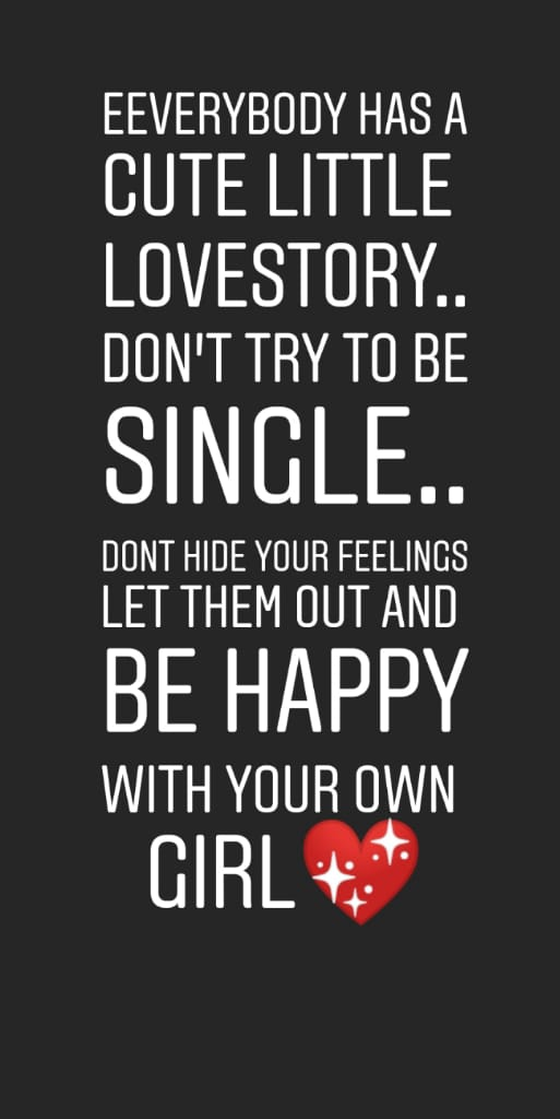 Don't be Single
