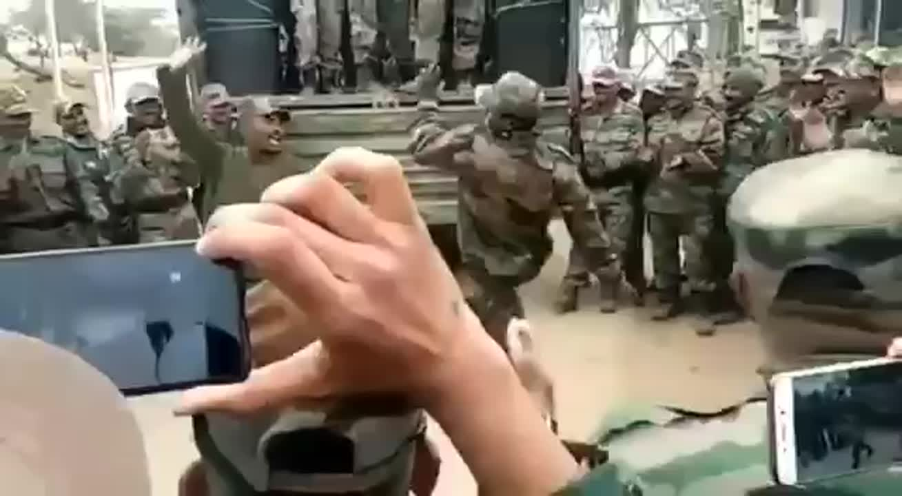 Indian Army celebrations - rowdy baby  song