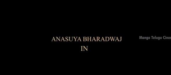 anasuya thriller movie teaser