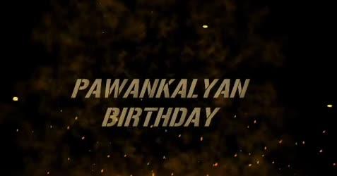 Pawan kalyan Birthday Status